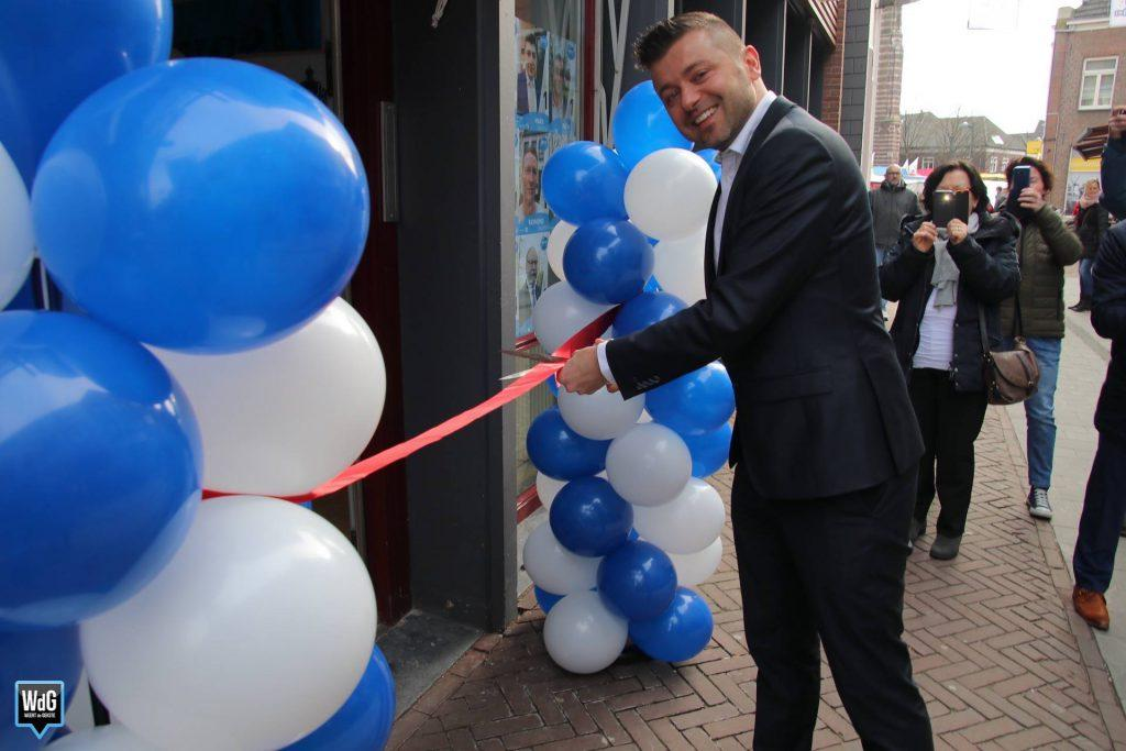 Ons campagnelokaal is geopend!
